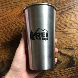 REI stainless steel pint cup/glass MiiR